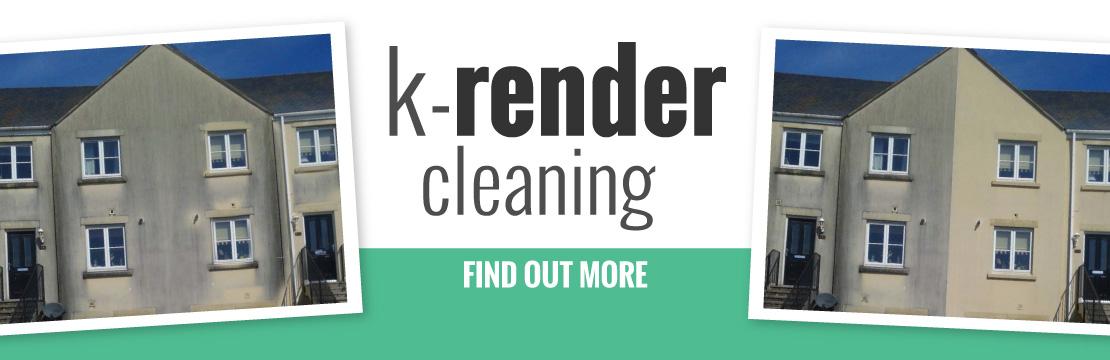 k render cleaning devon