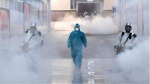 anti-viral fogging for cruise ships